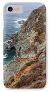 Big Sur Colorful Sea Cliffs IPhone Case by Pierre Leclerc Photography