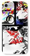 Biking In Barcelona IPhone Case by Funkpix Photo Hunter