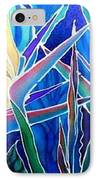 Birds Of Paradise  IPhone Case by Francine Dufour Jones