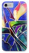Birds Of Paradise II IPhone Case by Francine Dufour Jones