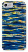 Blue And Gold IPhone Case by Steve Gadomski