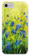 Blue Bells  IPhone Case by Pol Ledent