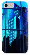 Blue Reflections ... IPhone Case by Juergen Weiss