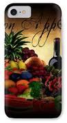 Bon Appetit IPhone Case by Lourry Legarde
