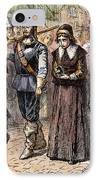 Boston: Mary Dyer, 1660 IPhone Case by Granger