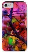 Bradford Pear In Autumn IPhone Case by Judi Bagwell