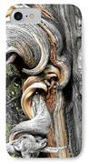 Bristlecone Pine - 'i Am Not Part Of History - History Is Part Of Me' IPhone Case by Christine Till