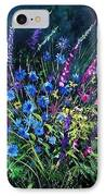Bunch Of Wild Flowers IPhone Case by Pol Ledent