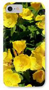 Buttercup Flowers IPhone Case by Corey Ford