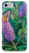 Butterfly View IPhone Case by Kendall Kessler