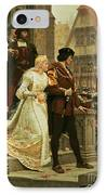 Call To Arms IPhone Case by Edmund Blair Leighton