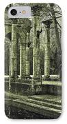 Calle Grande Ruins IPhone Case by DigiArt Diaries by Vicky B Fuller