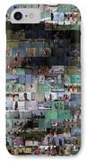 Carl Caddyshack Mosaic IPhone Case by Paul Van Scott