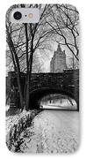 Central Park West And The San Remo Building  IPhone Case by John Farnan