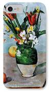 Cezanne: Tulips, 1890-92 IPhone Case by Granger