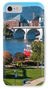 Chattanooga Landmarks IPhone Case by Tom and Pat Cory