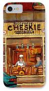 Cheskies Hamishe Bakery IPhone Case by Carole Spandau
