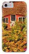 Children - The Children's Cottage IPhone Case by Mike Savad