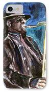 Clarence Clemons IPhone Case by Clara Sue Beym