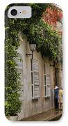 Colonial Buildings In Old Cartagena Colombia IPhone Case by David Smith