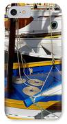 Colorful Boats IPhone Case by Lainie Wrightson