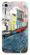 Colorful Old San Juan IPhone Case by Luis F Rodriguez