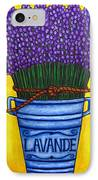 Colours Of Provence IPhone Case by Lisa  Lorenz