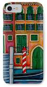 Colours Of Venice IPhone Case by Lisa  Lorenz