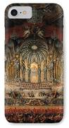 Concert Given By Cardinal De La Rochefoucauld At The Argentina Theatre In Rome IPhone Case by Giovanni Paolo Pannini or Panini