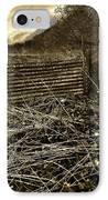 Corrugated Tin Pen IPhone Case by Meirion Matthias