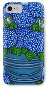 Country Blues IPhone Case by Lisa  Lorenz
