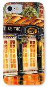 Court Of The Two Sisters IPhone Case by Diane Millsap
