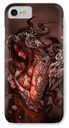 Cthluhu Princess IPhone Case by David Bollt