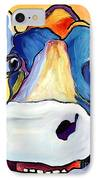 Dairy Queen I   IPhone Case by Pat Saunders-White