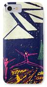 Dancing Under The Starry Skies IPhone Case by J R Seymour