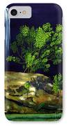 Dark Waters IPhone Case by Patricia Griffin Brett