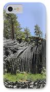 Devil's Postpile - Talk About Natural Wonders IPhone Case by Christine Till