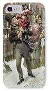 Dickens: A Christmas Carol IPhone Case by Granger