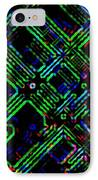 Diffusion Component IPhone Case by Will Borden