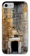 Doorway Church Of The Nativity IPhone Case by Thomas R Fletcher