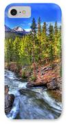 Down The River IPhone Case by Scott Mahon