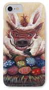 Easter Hog IPhone Case by Nadine Rippelmeyer