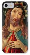Ecce Homo Or The Redeemer IPhone Case by Botticelli
