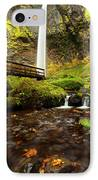 Elowah Perspective IPhone Case by Mike  Dawson