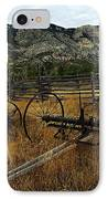 Ewing-snell Ranch 4 IPhone Case by Larry Ricker