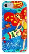 Fairy Liquid IPhone Case by Sushila Burgess