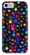 Falling Balls Of Color IPhone Case by Carl Deaville