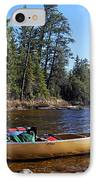 Farewell To Hope Lake IPhone Case by Larry Ricker