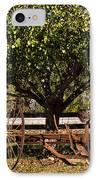 Farmtime IPhone Case by Douglas Barnett