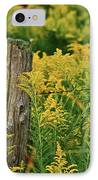 Fence Post7139 IPhone Case by Michael Peychich